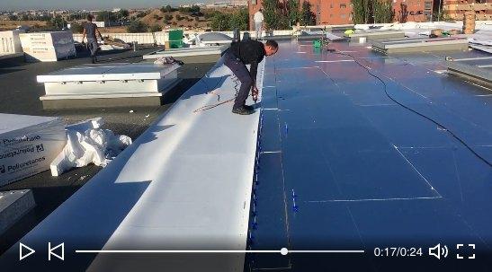 Renovación de cubierta 5.000 m2